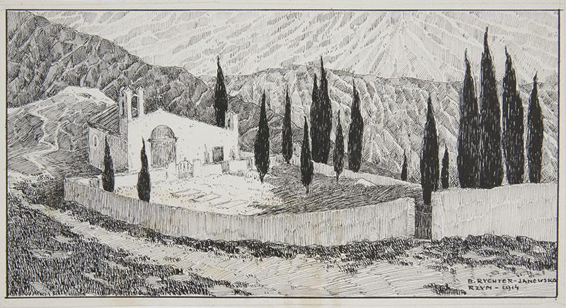 Motyw śródziemnomorski, 1929 r. - 2