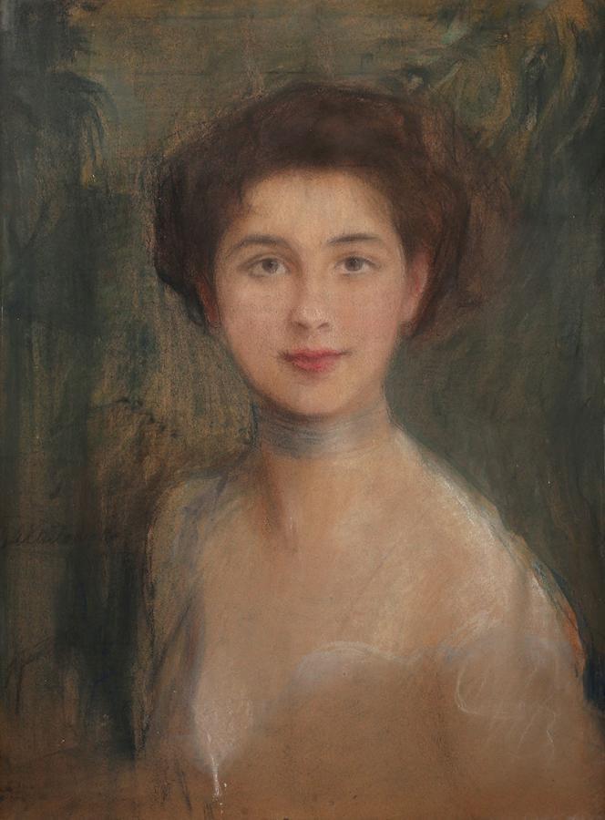 Studium portretowe (Pani Boczarowa) - 1