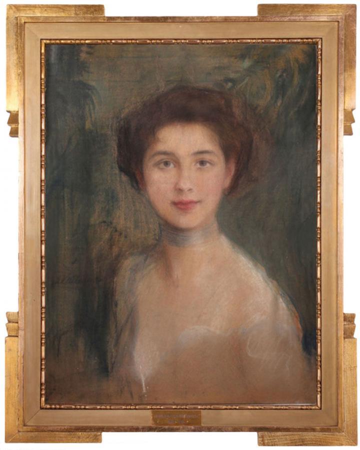 Studium portretowe (Pani Boczarowa) - 2