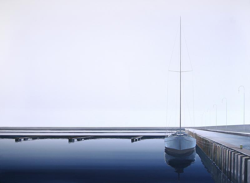 Przycumowany jacht, 2018 - 1