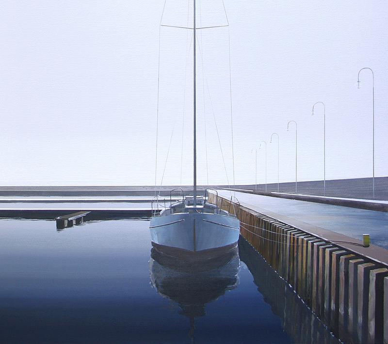 Przycumowany jacht, 2018 - 2