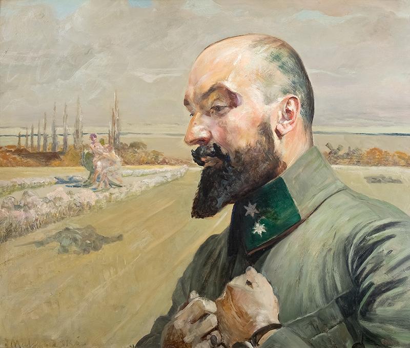 Portret Józefa Krupińskiego, 1915 r. - 1
