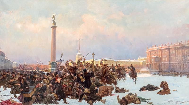 Krwawa niedziela w Petersburgu 22 stycznia 1905 roku, 1905 r. - 1