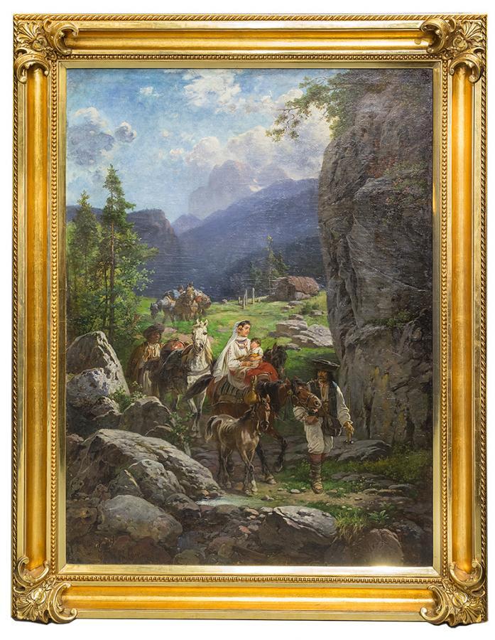 Wędrująca rodzina, 1898 r. - 2