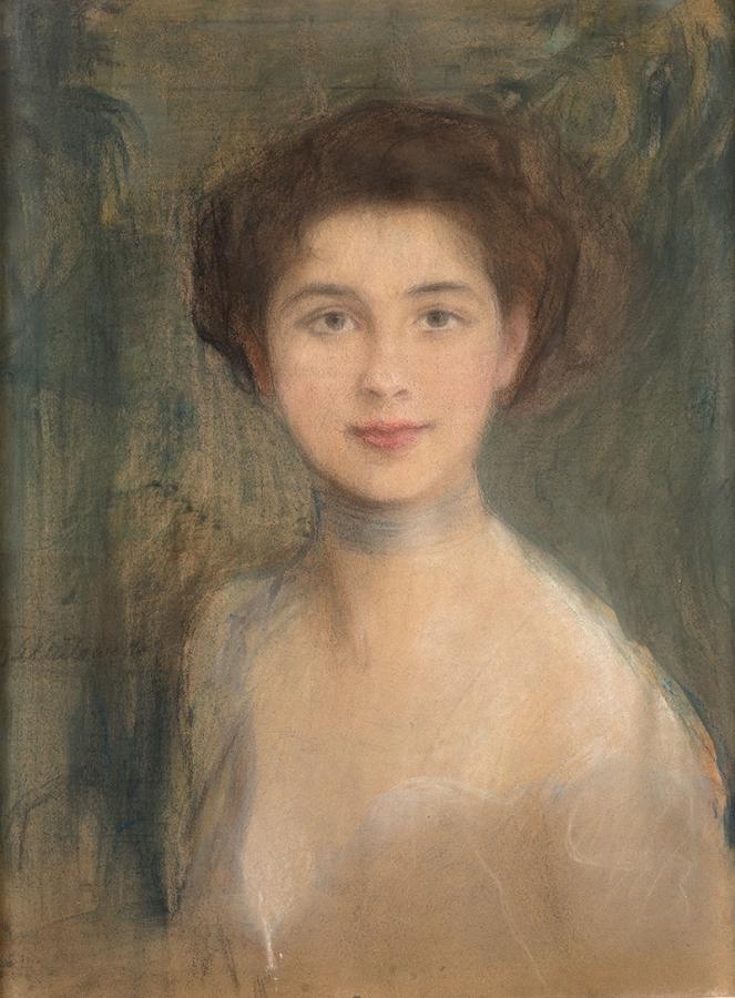 Studium portretowe - Pani Boczarowa - 1