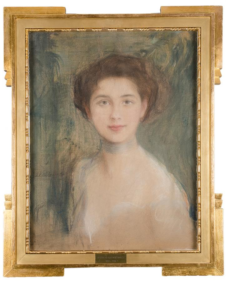 Studium portretowe - Pani Boczarowa - 2
