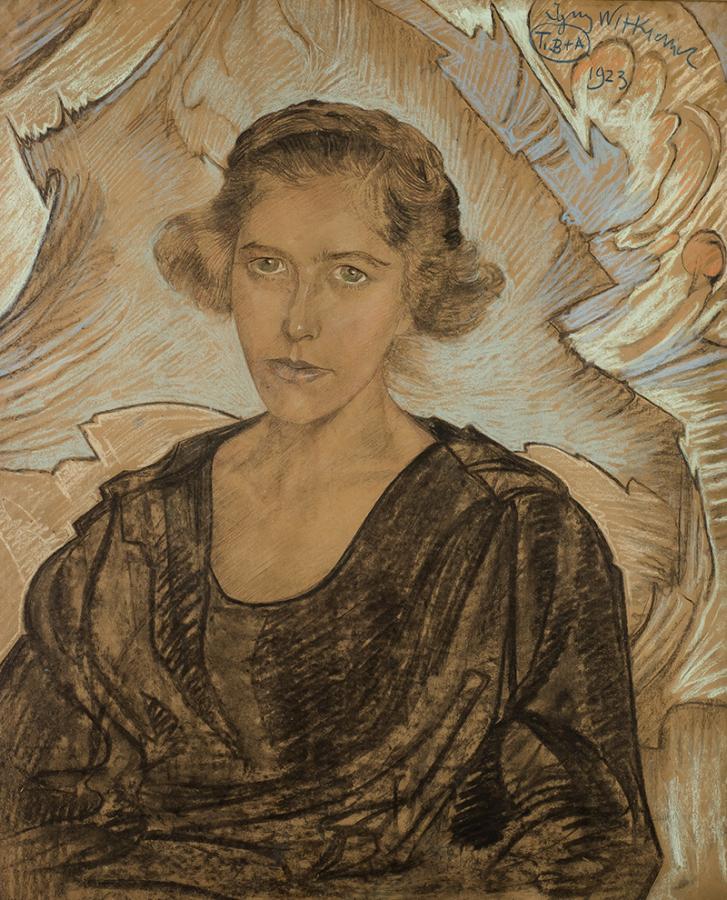 Portret kobiety, 1923 r. - 1