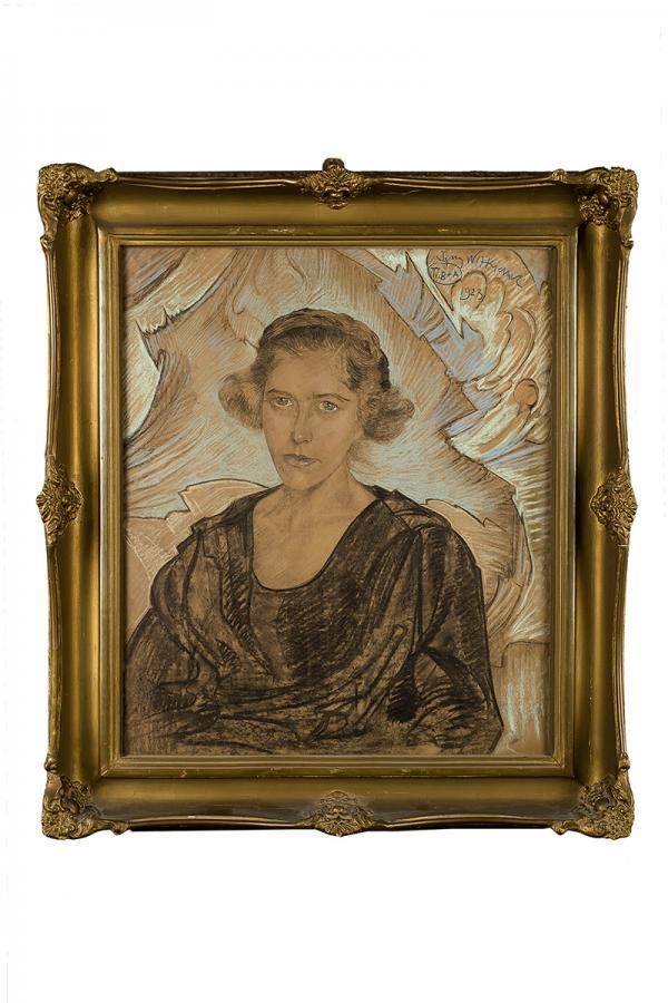 Portret kobiety, 1923 r. - 2