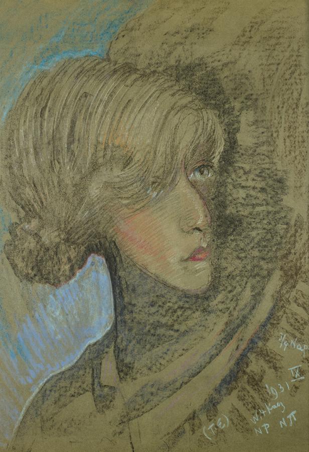Portret Felicji Turowskiej, 1931 r. - 1