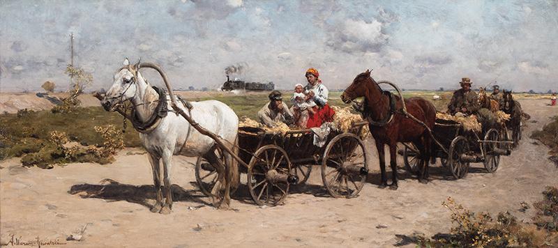 W drodze na jarmark - 1