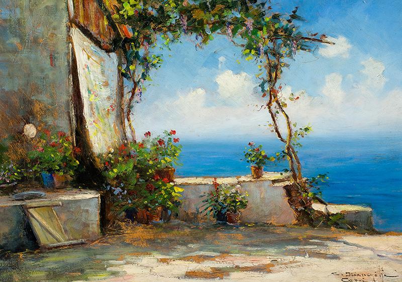 Widok z tarasu na Capri - 2