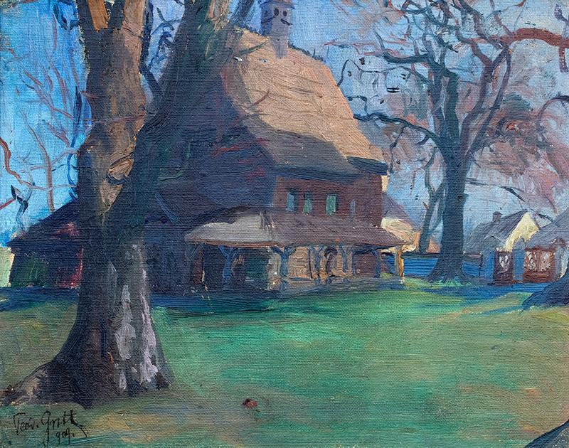 Kościółek, 1909 r. - 1