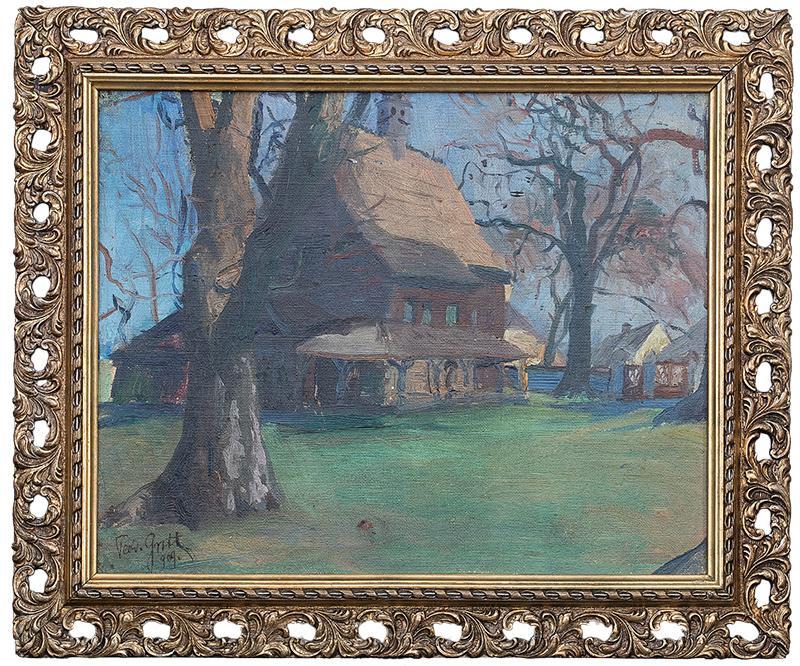 Kościółek, 1909 r. - 2