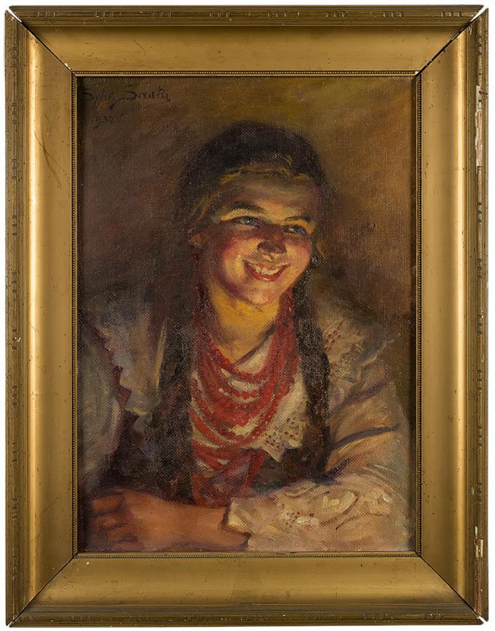 Śmiejęca się góralka-Ludwina, 1934 r. - 1