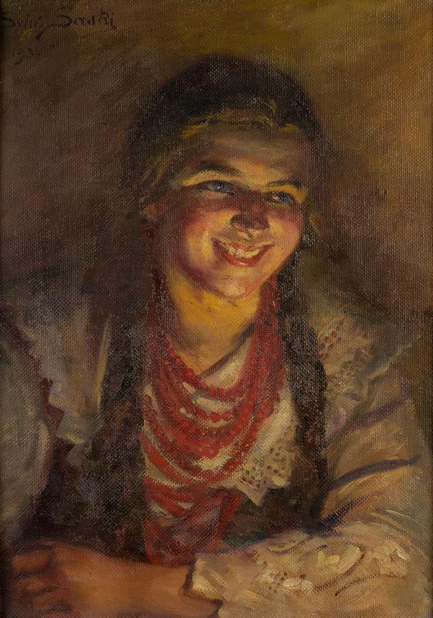 Śmiejęca się góralka-Ludwina, 1934 r. - 2