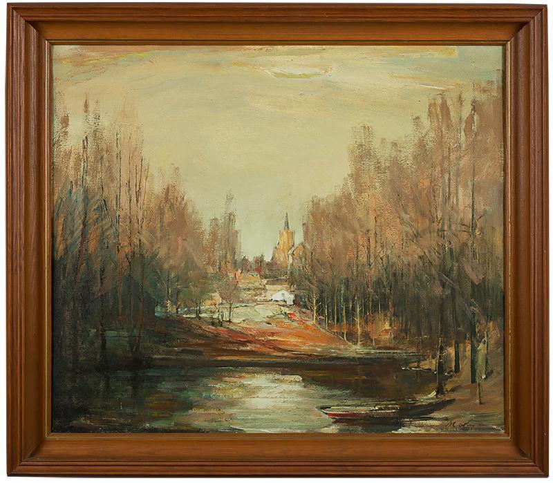 Widok z Kościerzyny, ok. 1960 r. - 1