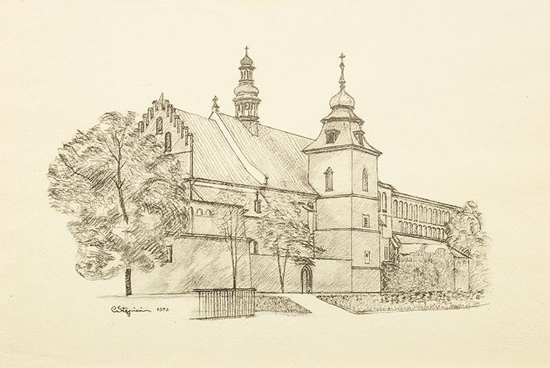 Klejnoty Krakowa - teka z 9 litografiami - 1