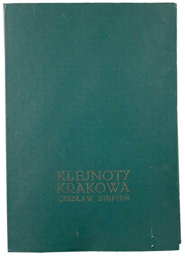 Klejnoty Krakowa - teka z 9 litografiami - 11