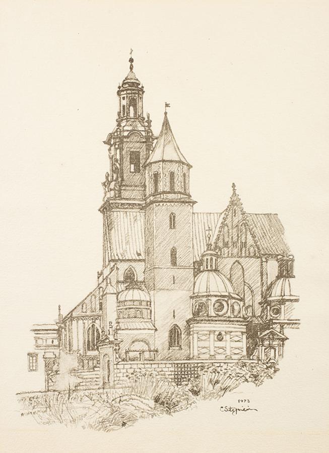 Klejnoty Krakowa - teka z 9 litografiami - 2