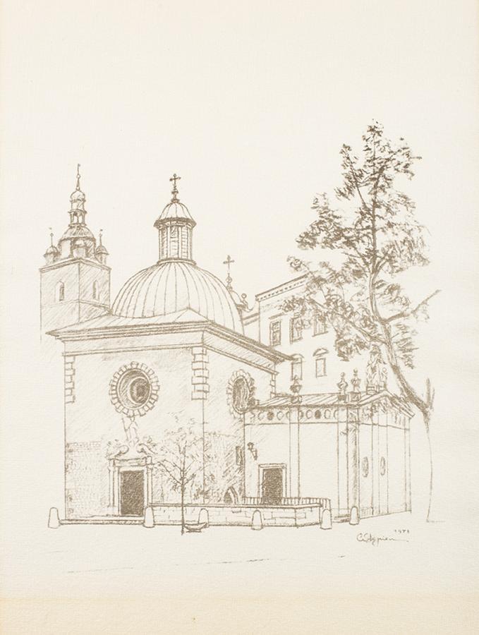 Klejnoty Krakowa - teka z 9 litografiami - 3