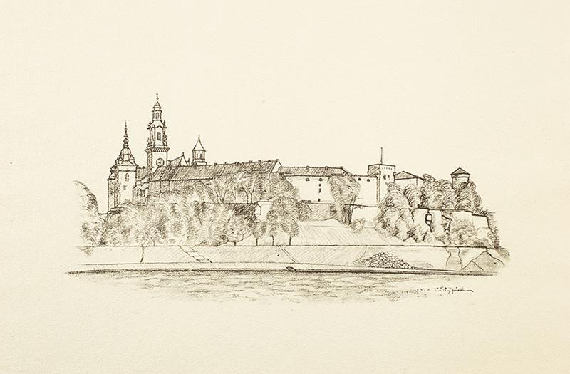 Klejnoty Krakowa - teka z 9 litografiami - 8