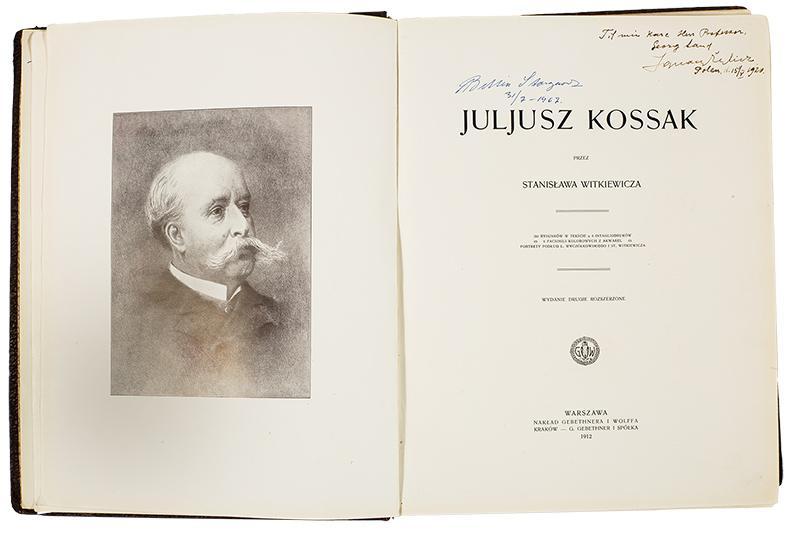Julisz Kossak przez Stanisława Witkiewicza, 1912 - 3