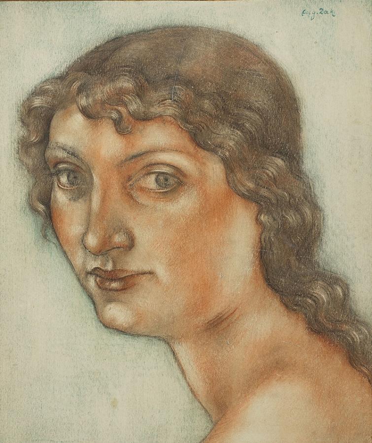 Portret dziewczyny, po 1913 r. - 1