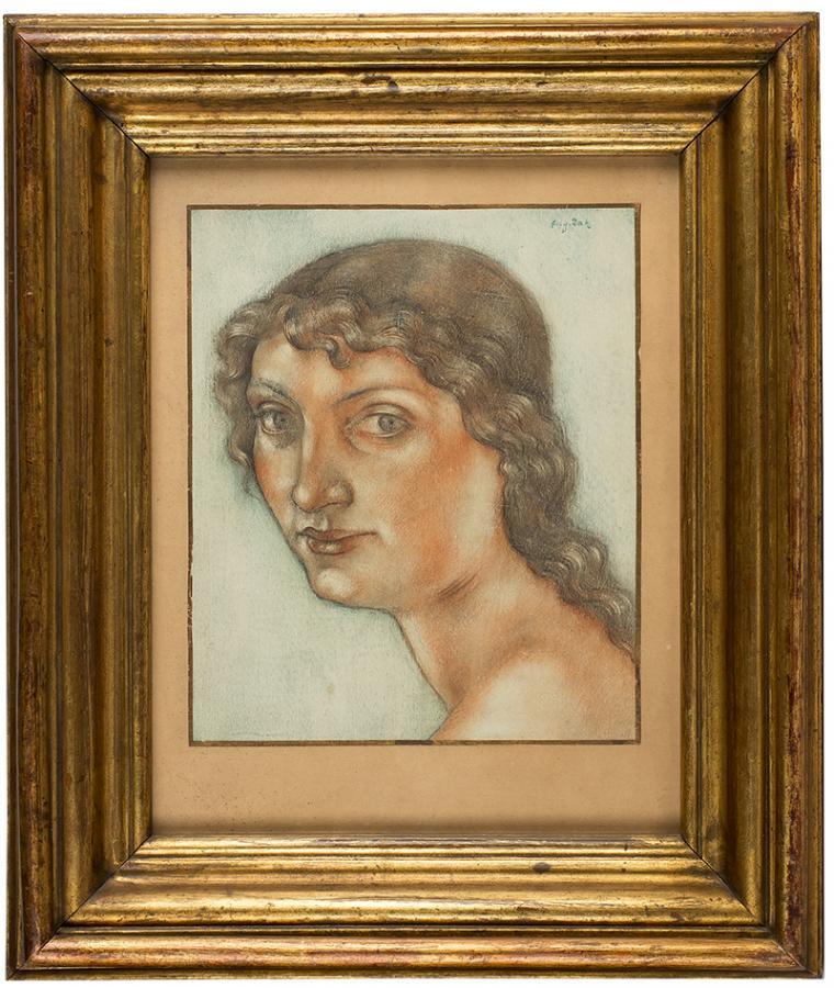 Portret dziewczyny, po 1913 r. - 2