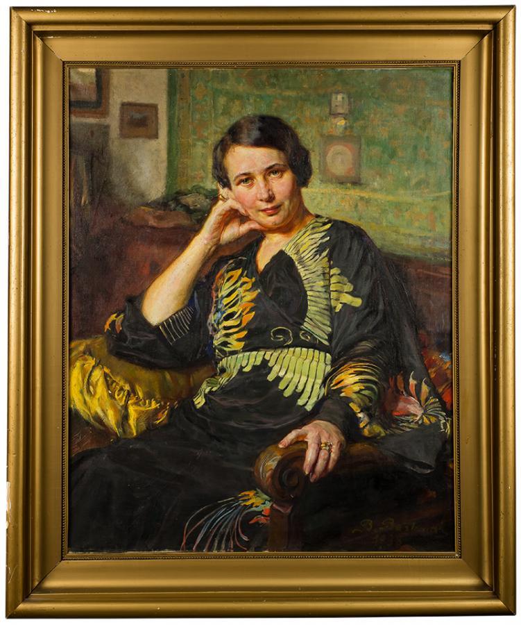 Portret kobiety w kimonie, 1938 r - 2