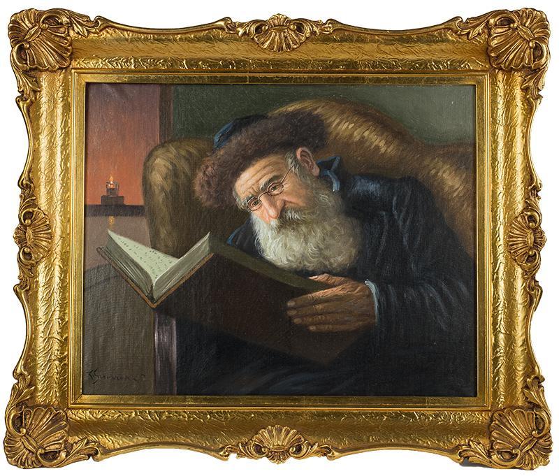 Rabin czytający księgę - 2