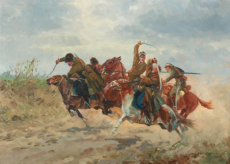 Potyczka ułanów z bolszewikami, 1925 r. - 1