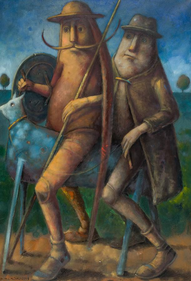 Don Kichot i Sancho Pansa, 2004 r. - 1