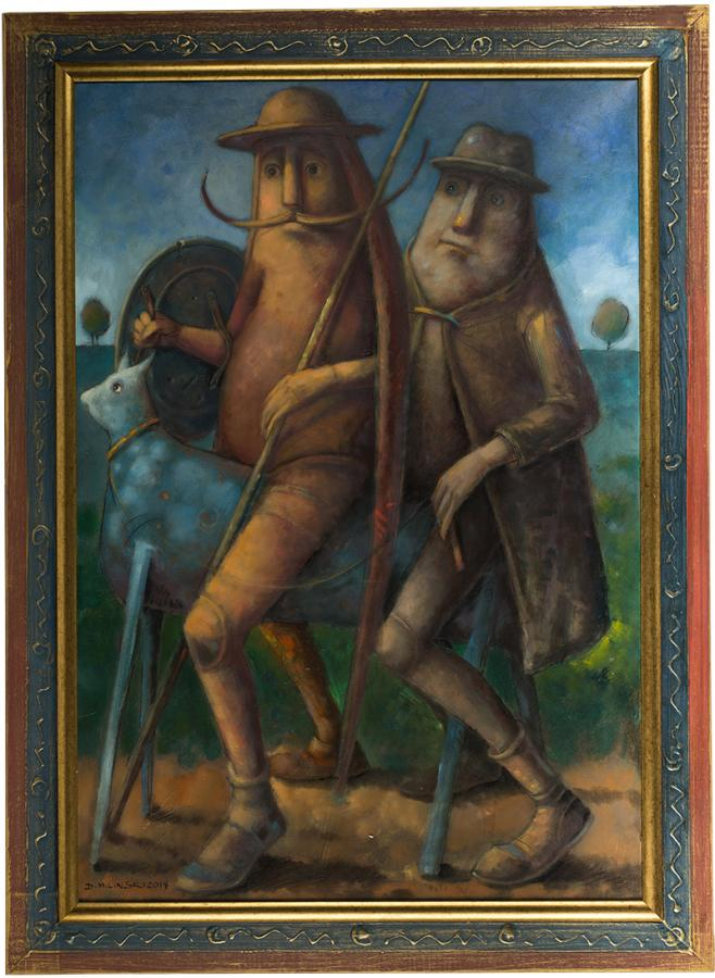 Don Kichot i Sancho Pansa, 2004 r. - 2