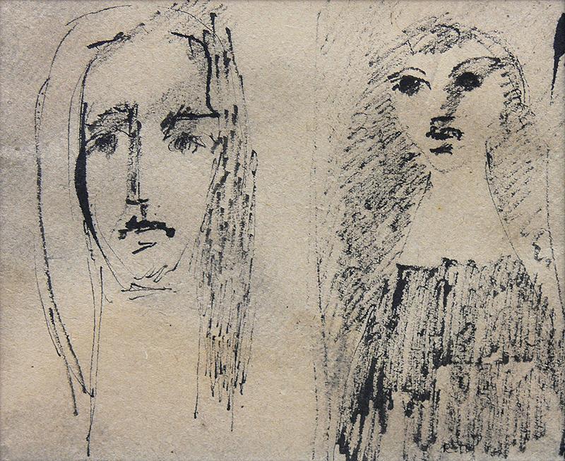 Portret podwójny - 1
