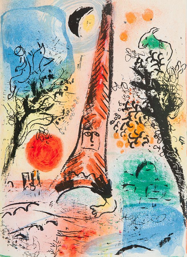 Litografie Chagalla, książka - 4