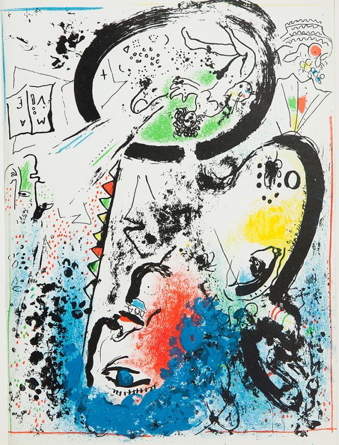 Litografie Chagalla, książka - 5