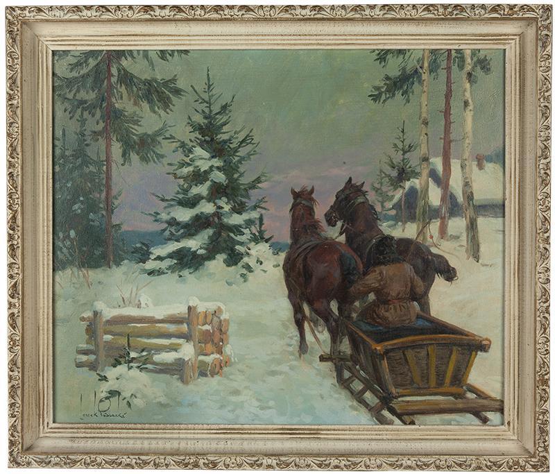 Sanie zimą - 2