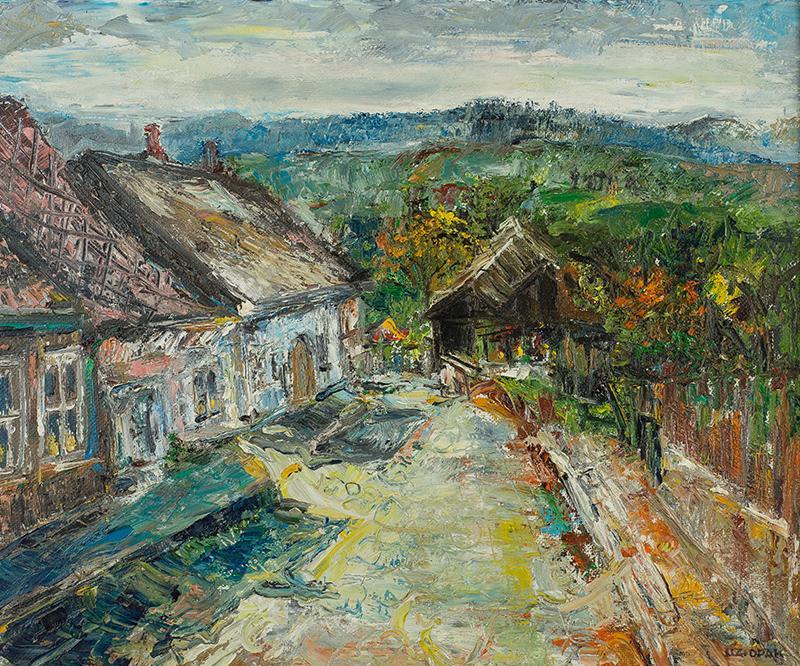 Widok z Kazimierza nad Wisłą - 1
