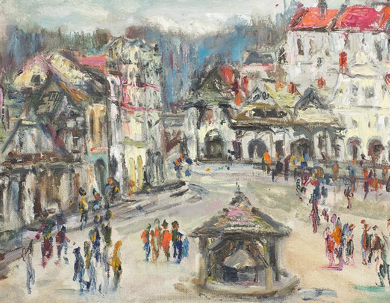 Rynek w Kazimierzu nad Wisłą - 1