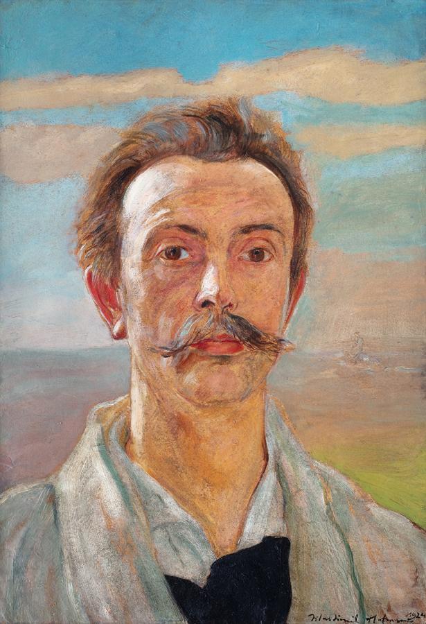 Autoportret, 1924 r. - 1
