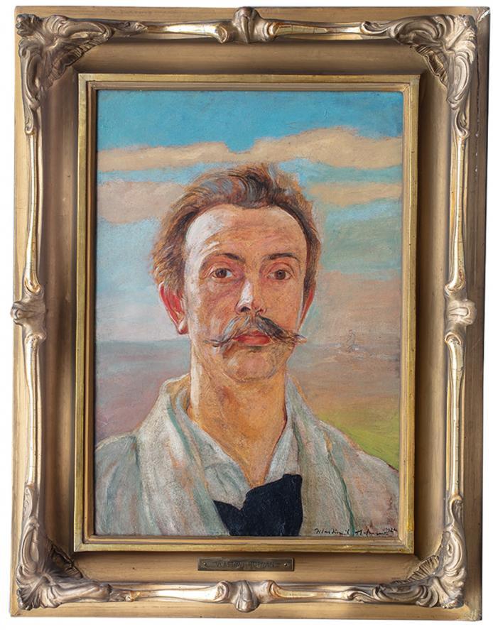 Autoportret, 1924 r. - 2