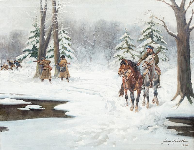 Zimowy patrol - 1