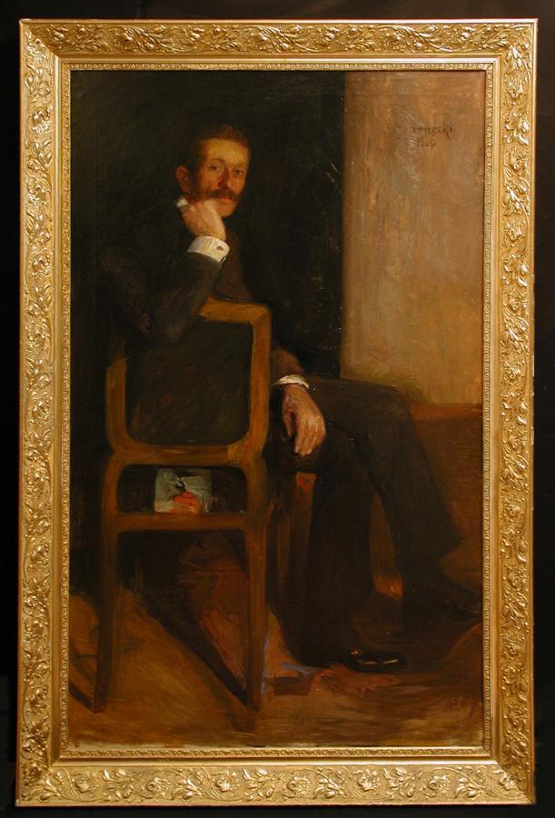 Portret mężczyzny, 1906 r. - 2
