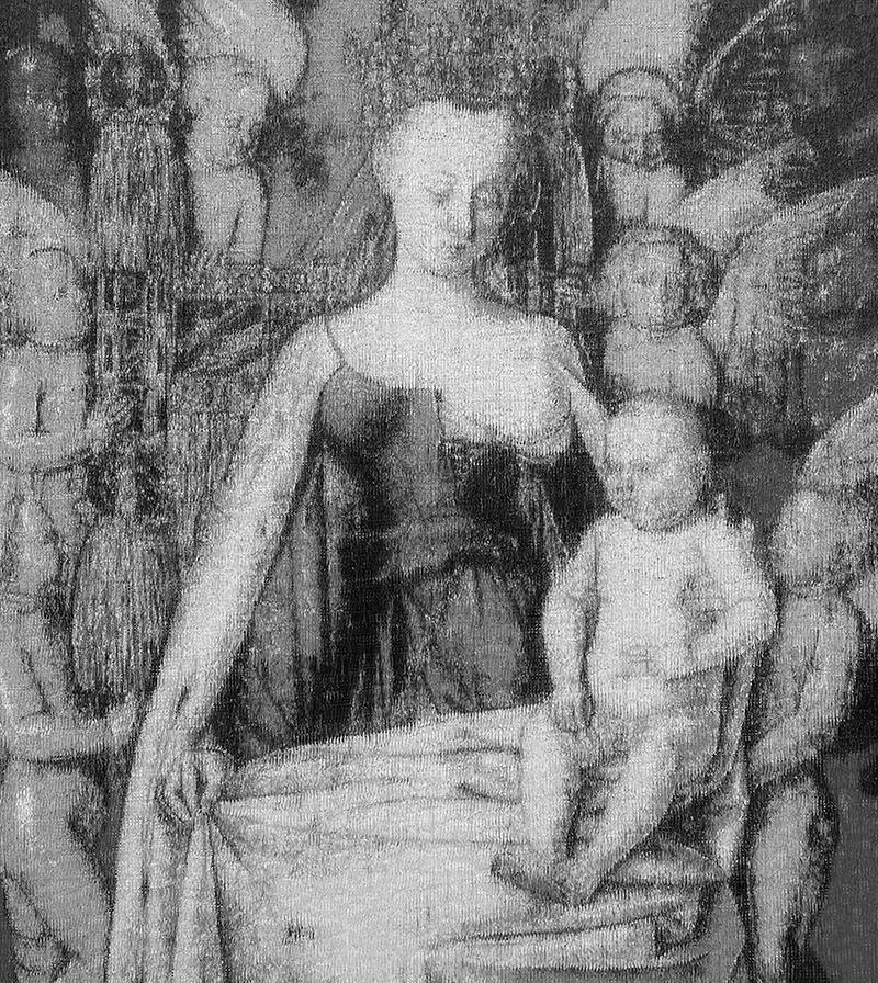Jean Fouquet - Madonna z Dzieciątkiem wśród Aniołów, 2020 - 1