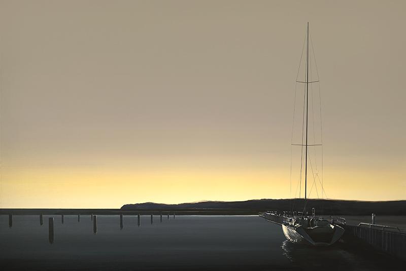 Port w blasku słońca, 2020 - 1