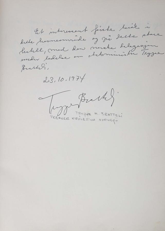 Księga pamiątkowa z wpisami gości Grand Hotelu w Sopocie z lat 1967–1977 - 15