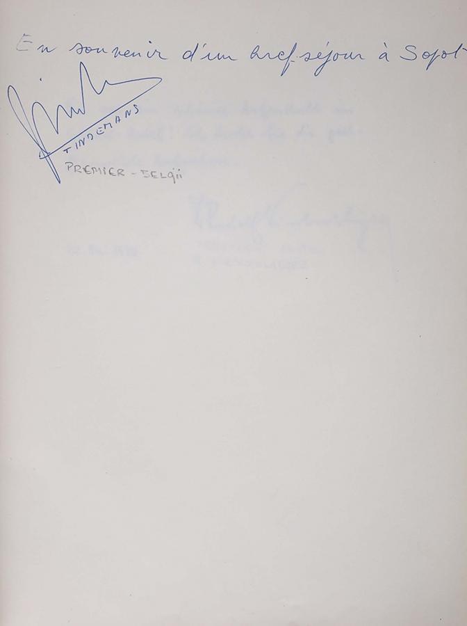 Księga pamiątkowa z wpisami gości Grand Hotelu w Sopocie z lat 1967–1977 - 16