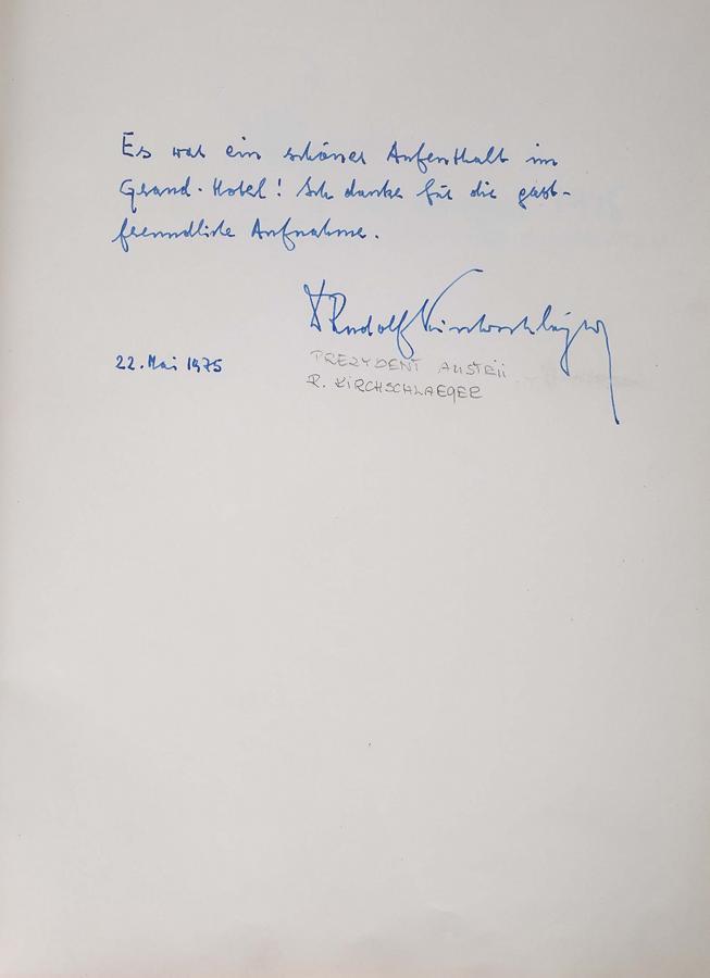 Księga pamiątkowa z wpisami gości Grand Hotelu w Sopocie z lat 1967–1977 - 17