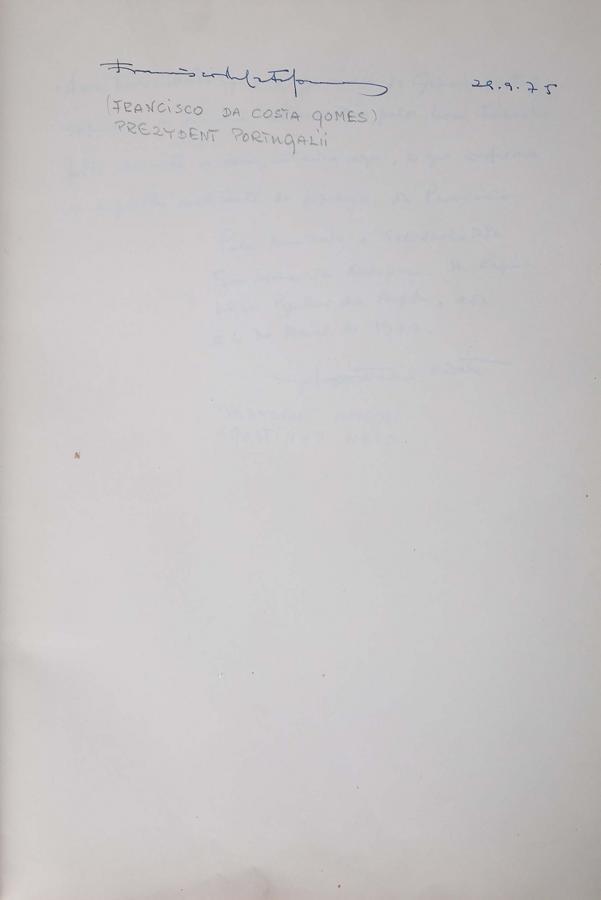 Księga pamiątkowa z wpisami gości Grand Hotelu w Sopocie z lat 1967–1977 - 19
