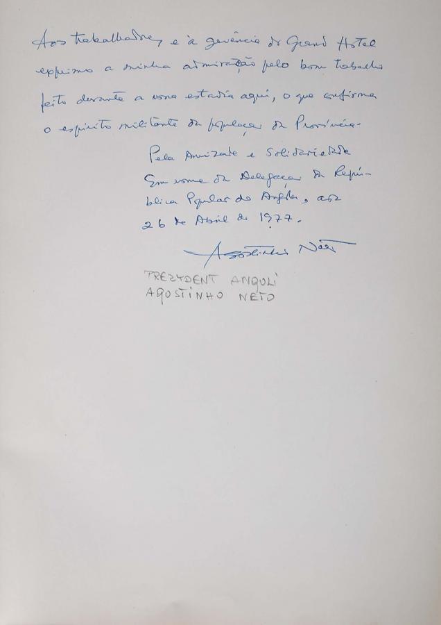 Księga pamiątkowa z wpisami gości Grand Hotelu w Sopocie z lat 1967–1977 - 20